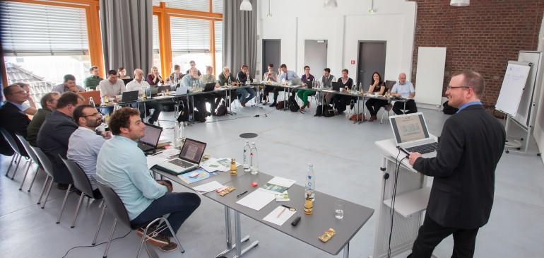 Kickoff meeting in Münster, Germany