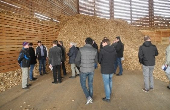 Visit of the biogas plant in Climate Protection Community Strem