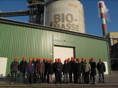 Study visit Wien Energie – Biomass power plant